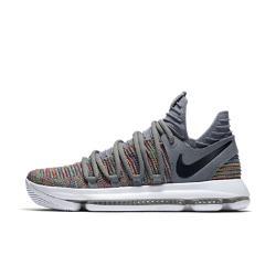 Баскетбольные кроссовки  Zoom KDX Nike. Цвет: серый