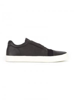 Leather sneakers Gloria Coelho. Цвет: чёрный
