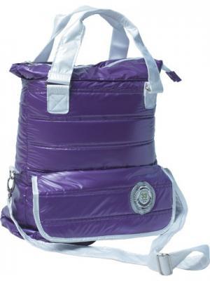 Сумка Bubble bag violet Limpopo. Цвет: фиолетовый