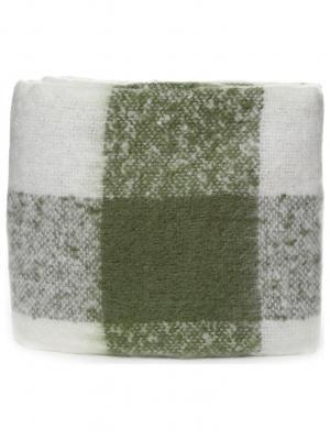 Плед 140*200 СМ SINGAPUR HF1203 GREEN/W/1 Cite Marilou. Цвет: зеленый, белый
