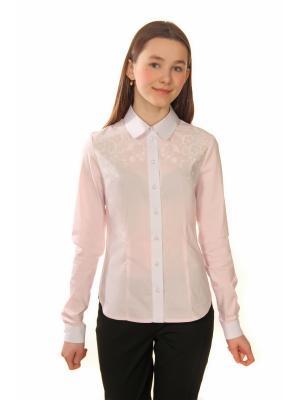 Рубашка Enfant sage. Цвет: розовый