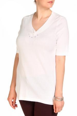 Пуловер HELENA VERA. Цвет: белый