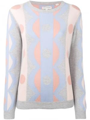 Cashmere scallop sweater Chinti And Parker. Цвет: многоцветный