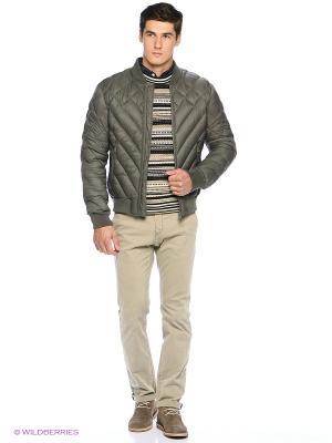 Куртка Oodji. Цвет: хаки