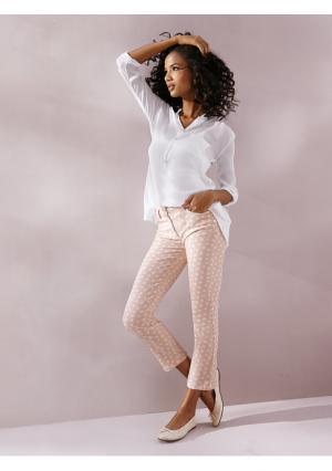 Моделирующие брюки 7/8 LINEA TESINI by Heine. Цвет: голубой/белый, желтый/белый, розовый/белый