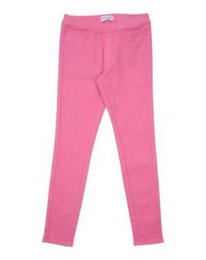 Джинсовые брюки PINKO UP. Цвет: светло-фиолетовый
