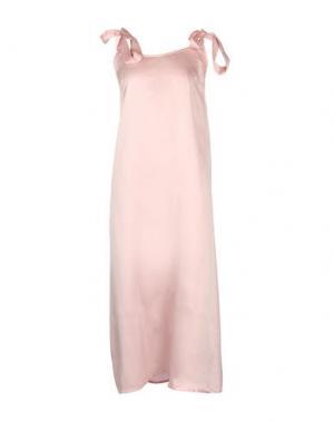 Платье длиной 3/4 PINK MEMORIES. Цвет: розовый