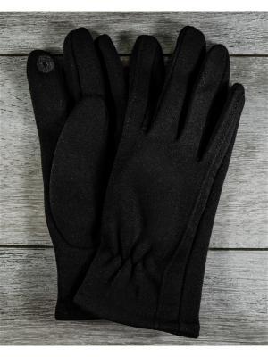 Перчатки Versal. Цвет: черный