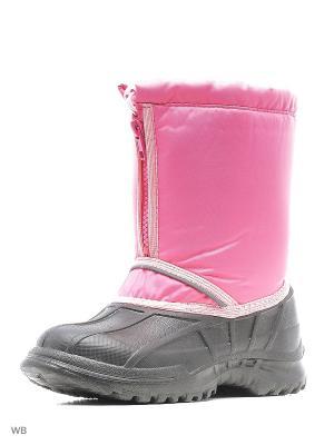 Сноубутсы детские утепленные Каури. Цвет: розовый