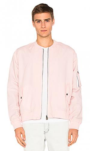 Бомбер florida Barney Cools. Цвет: розовый