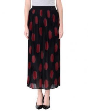 Длинная юбка FLY GIRL. Цвет: черный
