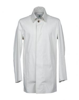 Легкое пальто KIRED. Цвет: светло-серый