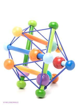Игрушка головоломка развивающ Skwish Разноцветный MANHATTAN TOY. Цвет: синий, зеленый