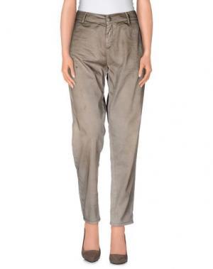 Повседневные брюки MISS SIXTY. Цвет: бежевый