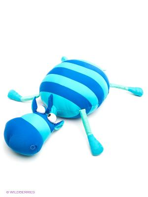 Мягкая игрушка Бычок Крам MAXITOYS. Цвет: голубой, синий