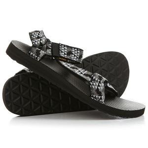 Сандалии  Original Universal Palopo Black Teva. Цвет: черный,белый,серый