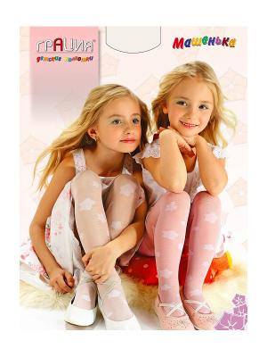 Колготки детские Машенька Грация. Цвет: белый