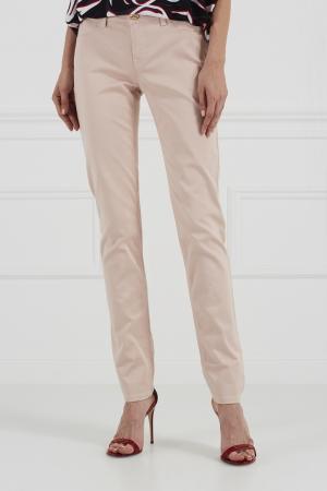 Однотонные джинсы Emilio Pucci. Цвет: розовый