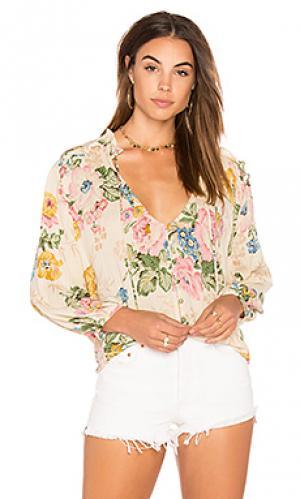 Богемная блузка delilah AUGUSTE. Цвет: беж