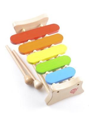 Ксилофон (5 тонов) LUCY&LEO. Цвет: светло-зеленый, голубой, бежевый