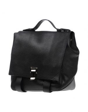 Рюкзаки и сумки на пояс PROENZA SCHOULER. Цвет: черный