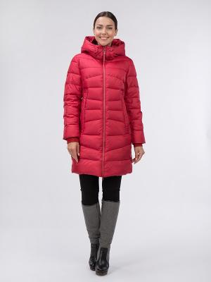 Пальто OSTRICH. Цвет: красный