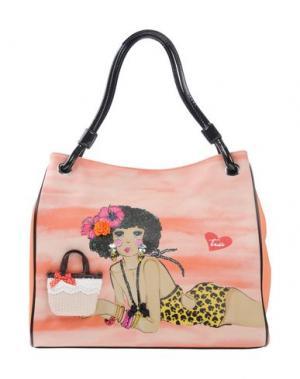 Рюкзаки и сумки на пояс TUA BY BRACCIALINI. Цвет: оранжевый