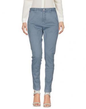 Повседневные брюки AGLINI. Цвет: грифельно-синий