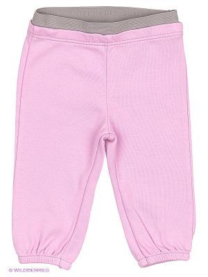 Брюки United Colors of Benetton. Цвет: бледно-розовый, белый, сиреневый