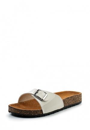 Сабо Ideal Shoes. Цвет: белый