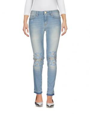 Джинсовые брюки HOPE COLLECTION. Цвет: синий