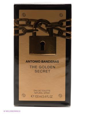 Antonio Banderas Golden Secret М Товар Туалетная вода 100 мл. Цвет: прозрачный