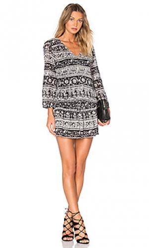 Платье vork Joie. Цвет: black & white