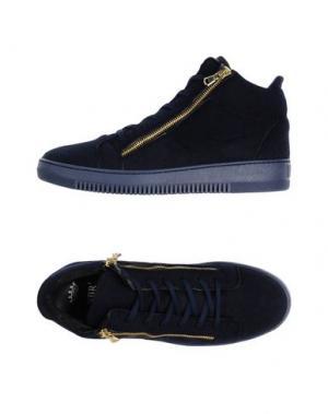 Высокие кеды и кроссовки NBR¹. Цвет: темно-синий