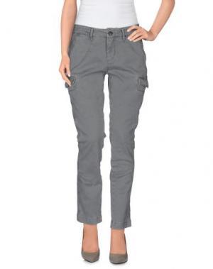 Повседневные брюки ROMANO RIDOLFI. Цвет: светло-серый