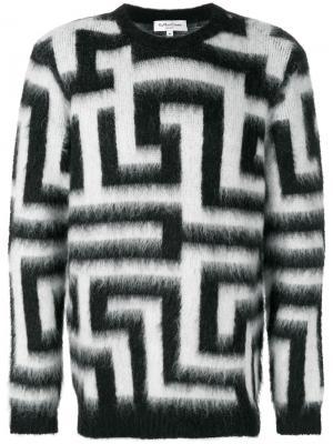 Джемпер с круглым вырезом Maze YMC. Цвет: чёрный