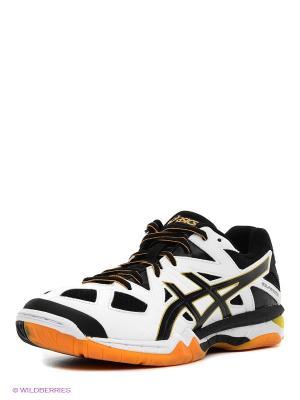 Волейбольные кроссовки Gel-Tactic ASICS. Цвет: черный, красный, белый
