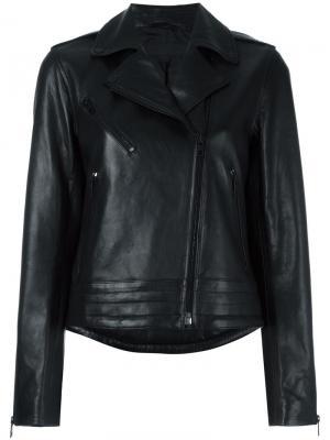 Классическая байкерская куртка Rag & Bone. Цвет: чёрный