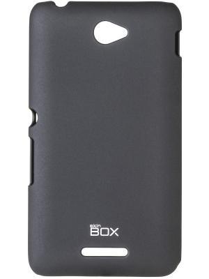 Клип-кейс для Sony Xperia E4 SS/DS skinBOX. Цвет: черный