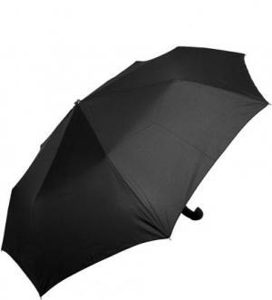 Черный складной зонт Doppler. Цвет: черный