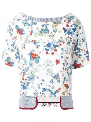 Layered T-shirt Antonio Marras. Цвет: многоцветный
