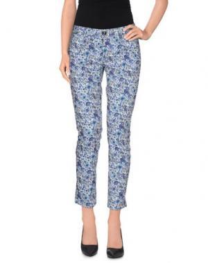 Повседневные брюки RRD. Цвет: фиолетовый