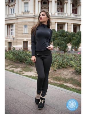 Леггинсы Issa Plus. Цвет: черный