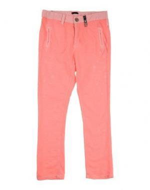 Повседневные брюки IKKS. Цвет: коралловый