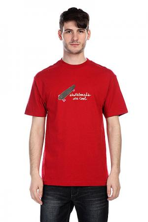 Футболка  Cool Deep Red Krux. Цвет: красный