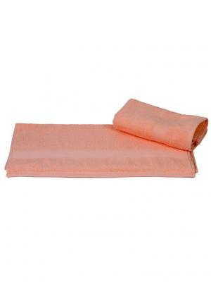 Махровое полотенце 100x150 BERIL персиковое, 100% хлопок HOBBY HOME COLLECTION. Цвет: персиковый