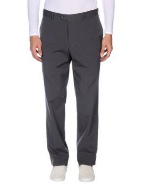 Повседневные брюки EREDI RIDELLI. Цвет: свинцово-серый