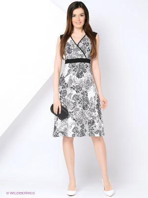 Платье Cariba. Цвет: черный, белый