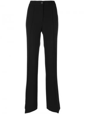 Расклешенные брюки Helmut Lang. Цвет: чёрный