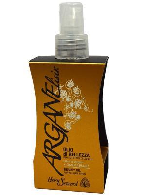 Helen Seward 737 ARGAN ELISIR oil Аргановое ухаживающее масло для всех типов волос 100 мл. Цвет: белый